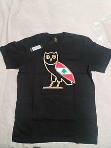 October's Very Own Cedars Of Lebanon T Shirt Black Medium BNWT Genuine