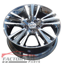 "19"" LEXUS RX350 450H PVD CHROME WHEELS RIMS 2010-2014 FACTORY OEM EXCHANGE 74254"