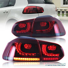 Para VW Golf MK6 GTD GTI 2008-13 Luces traseras Piloto trasero LED secuenciales