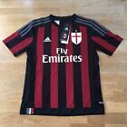 AC Milan 2015-16 Home Football Shirt Kid's Size 11-12 Years (152cm) Adidas, BNWT