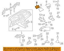 BMW OEM 05-10 X3 Instrument Panel Dash-Storage Tray 51163417438