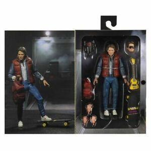 """Back to the Future Marty McFly Guitar Ultimate Edition 7"""" 18cm Action Figur Neca"""