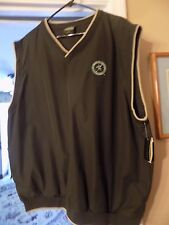 NWT WEATHERPROOF GARMENT CO. SLEEVELESS WINDSHIRT WITH LAUREL VALLEY LOGO SIZE X