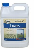 Weed Spray Herbicide Dye Lazer Blue Concentrated Pattern Size 1 Gallon 128 Ounce