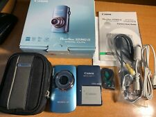 Canon PowerShot Digital ELPH SD960 IS 12.1MP Digital Camera + Box + Case