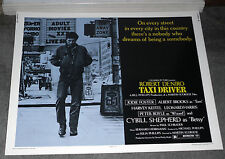 TAXI DRIVER original ROLLED 22x28 movie poster ROBERT DE NIRO