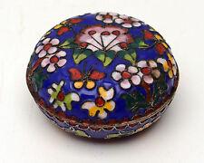 Vintage Cloisonne Vanity Dish - Jewelry Box