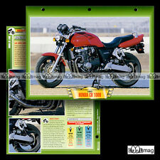 #056.02 Fiche Moto HONDA CB 1000 BIG ONE 1993-1997 Motorcycle Card