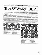 Butler Brothers 1905 glassware catalog reprint