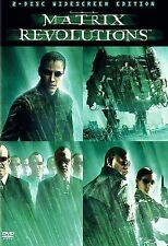 New ListingMatrix Revolutions 2-Dvd Set (Widescreen) Discs Only - Very Good Condition