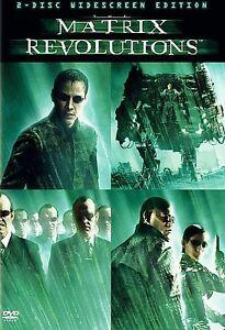 The Matrix Revolutions (DVD, 2004, 2-Disc Set) DISCS & COVER ART ONLY