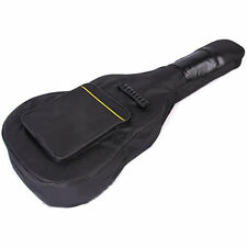 Guitar Case Full Size Padded Protective Classical Acoustic Carry Shoulder Strap