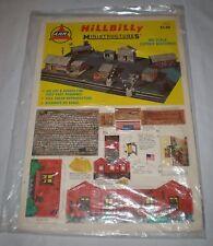 Vintage Railroad 1974 AHM HILLBILLY MINI STRUCTURES HO Scale Cut Out Buildings