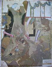 HORST JANSSEN, Plakat-Offset 1978, handsigniert, Brockstedt/Aquarelle/Erotik