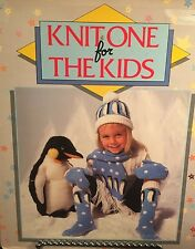 Knit One for the Kids -50 patterns for blankets - sweaters - cardigans -vests HB