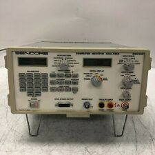 Sencore Cm2125 Computer Monitor Analyzer Tested and Working Rare Nice
