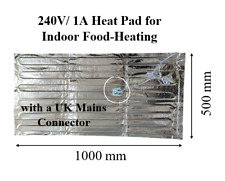 More details for 240v/1a 1m x 0.5m heat pad for food warming