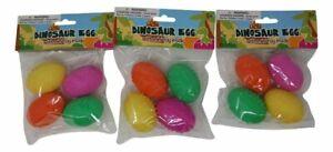 Prefilled Easter Eggs - Dinosaur Eggs With Mini Toy Inside (12 Eggs Total)