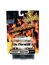 MUSCLE MACHINES JESSE JAMES WEST COAST CHOPPERS CHEVY WACON WAGON 1:64 SCALE
