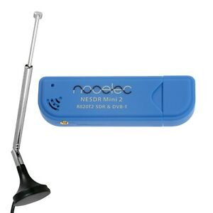 Nooelec NESDR Mini 2 USB RTL-SDR & DVB-T Receiver, RTL2832U & R820T2 Tuner USA