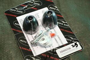 N14) Moto Guzzi Californie 1400 Guidon Poids 2S000336 Ronde Noir