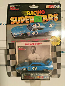 RICHARD PETTY NASCAR RACING SUPERSTARS PLYMOUTH SUPERBEE RACECAR NIP 1991