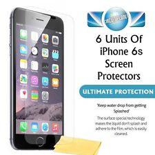 """6 NEW GENUINE SCREEN PROTECTORS PROTECT FOR APPLE IPHONE 6S (4.7"""")"""