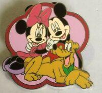 Mickey Pluto Minnie My First Start Set Pin Fab 5 disney pin  C
