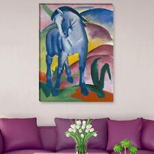 "WANDKINGS Leinwandbild Franz Marc - ""Blaues Pferd"""