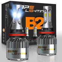 BPS Lighting B2 Series 9007/HB5 LED Headlight Bulbs Conversion Kit 12000LM 100W