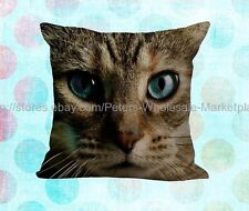 *US SELLER*decor pillow covers 3D cat decorative pillow case cushion cover