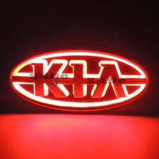 Red Illuminated 5D LED Car Tail Logo Badge Emblem Light For Kia K5 SORENTO SOUL
