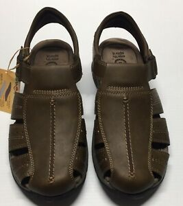 Men's Earth Spirit Jacob 2 Gelron Cushion Sandals Size 11 Brown Adjustable