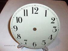 "NEW 6/"" Dia Mint! Round Brasstone Roman//Black Aluminum Dial"