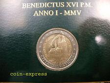 *** 2 EURO Gedenkmünze VATIKAN 2005 XX. Weltjugendtag Köln Vaticano Münze Coin *
