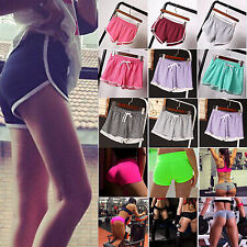 Sexy Women Exercise Pant Sports Gym Workout Waistband Shorts Skinny Yoga Fitness
