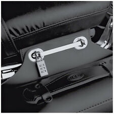 Held Silver Motorcycle Small Security Lock for Held Saddlebag Panniers | 1 Pair