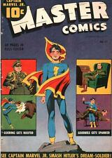 Master Comics #42 Photocopy Comic Book, Captain Marvel Jr., Bulletman