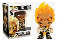 Mortal Kombat Pop X Games Vinyl Figurine Scorpion Flaming Skull 10 Cm Funko 255
