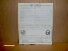 Vintage 1954 Lincoln Capri Convertible TITLE Historical Document