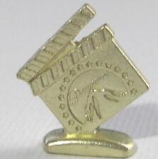 Empire Monopoly PARAMOUNT SCENE MARKER gold tone pewter mover token mini part