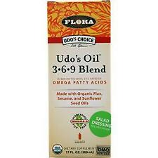 Flora Udo's Oil 3-6-9 Blend Liquid  17 fl.oz