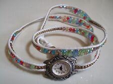 Casual/Dress yCrystal  Band Wrap Around Fashion Women's/Girl's Wrist Watch