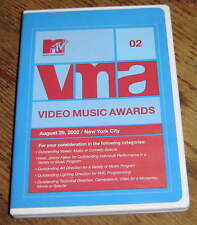 2002 VMA AWARDS DVD, SHAKIRA, MOBY, EMINEM, WHITE STRIPS, JAMES BROWN, THE HIVES