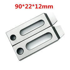 2x CNC Wire EDM Stainless Jig Holder Clamp 90x22x12mm M8 Screw Wire Cutter Claw