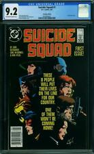 SUICIDE SQUAD 1 CGC 9.2 OWW PAGES CANADIAN PRICE VARIANT NEWSTAND RARE A4