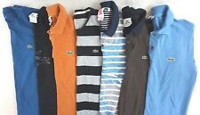 Lacoste Men's Lot of 7 Polo Shirts EUR 3 Size Small S [BK16425]