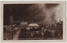 A Broken Hill Dust Storm, New South Wales Australia 1907 RP Postcard B773
