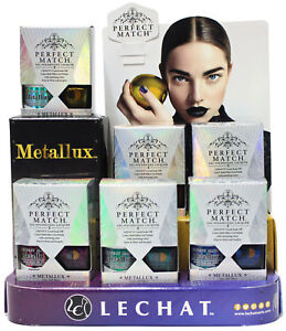 LECHAT PERFECT MATCH METALLUX COLLECTION CHROME GEL + LAC DUO