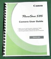 Canon PowerShot S95 Instruction Manual: 196 Pages & Protective Covers